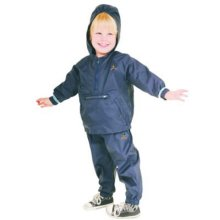 Goldbug Rain Suit Backpack Navy