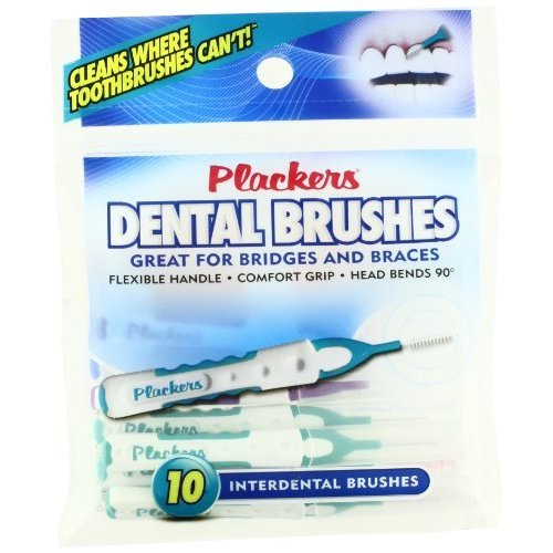 Plackers Interdental Brushes - 10 ct
