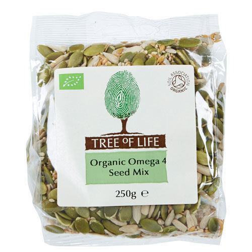 Tree Of Life  Organic Omega 4 Seed Mix 250g x 6