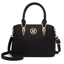 Miss Lulu Women's Zip Top Multiway Bag