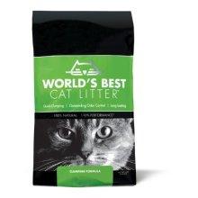 Worlds Best Cat Litter Bag Long Lasting Odour Control Clumping Formula, 6.35kg