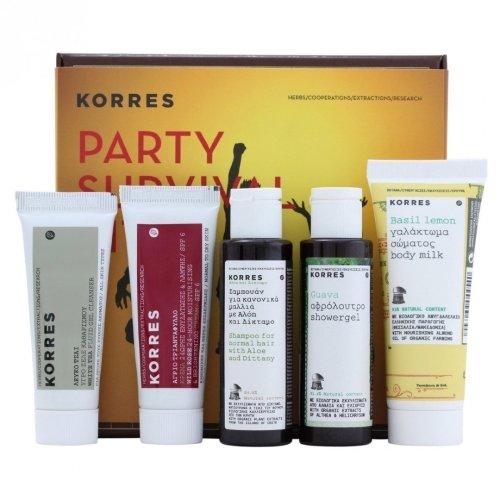 KORRES Party Survival Kit, 5 PC Set
