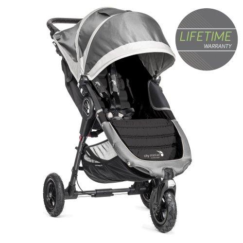 Baby Jogger City Mini GT Single Stroller Steel Grey