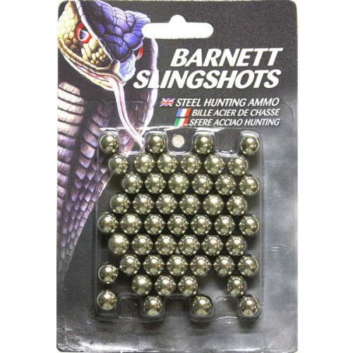 Barnett Slingshot catapult Ammo - metal - Pack of 50