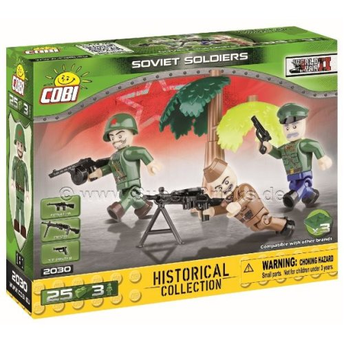 COB02030 - Cobi - Small Army Figures - Russian  x 3 (25pcs)