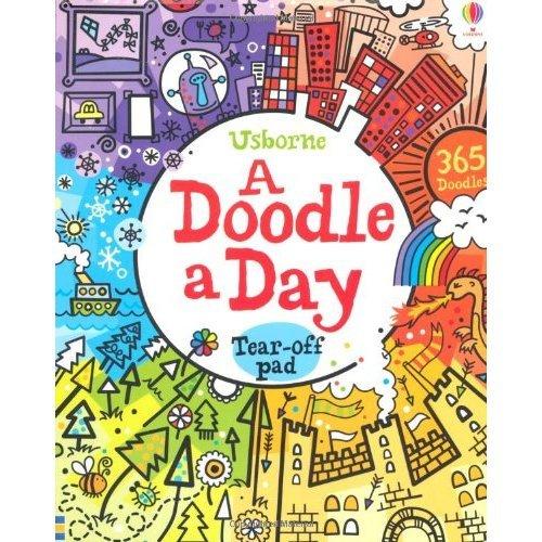 A Doodle a Day (Usborne Activity Pads)