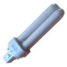 Energy Saving PLC bulb - 13w 4 pin CFL bulb - G24q-1 - colour 4000k - 2 PACK