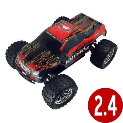 Redcat Racing VOLCANOS30-REDPU-88049-R Volcano S30 Scale Nitro Monster Truck - Red