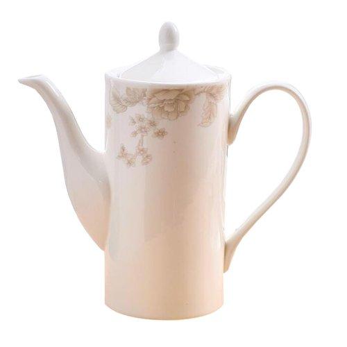 Flower Pattern European Style Afternoon Tea Pot