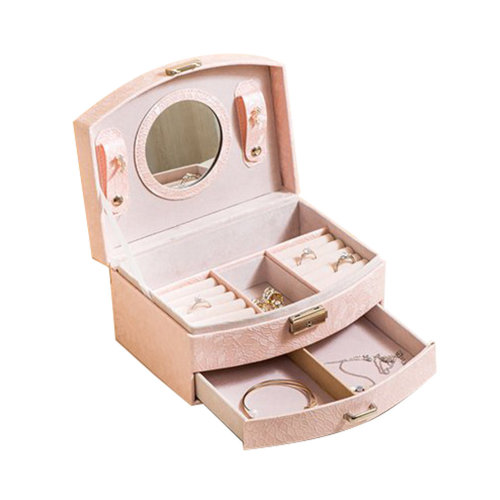 Small Travel Jewelry Box For Ring / Watch / Necklace / Earring -A7
