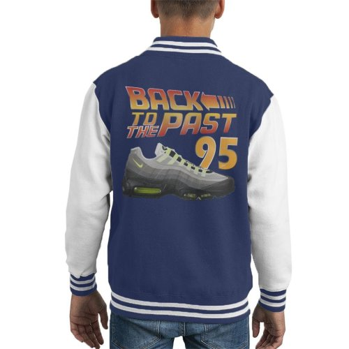Back To The Past 95 Trainers Kid's Varsity Jacket