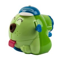 Cute Dog Manual Pencil Sharpener for Office and Classroom ( Green )