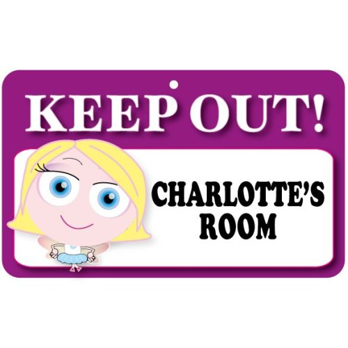 Keep Out Door Sign - Charlotte's Room