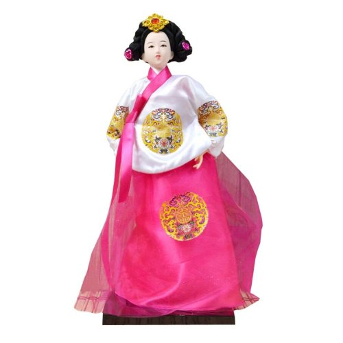 2c53216c3 Traditional Korean Hanbok Vintage Restaurant Doll Figurine 04 on OnBuy