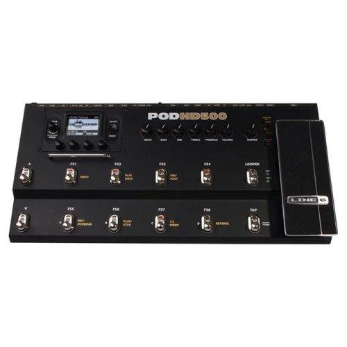 Line 6 122092 Pod HD500X Amplifier Modeling Processor