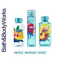 "Bath & Body Works"" Maui Hibiscus Beach "" Gift Set Body Lotion , Shower Gel & Fra"