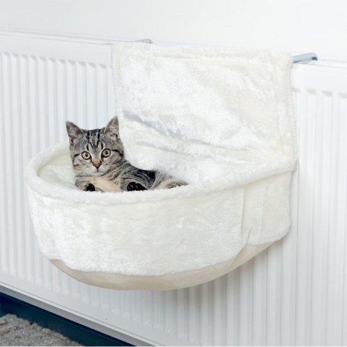 Cat Radiator Snuggle Bed Bag Warm Cosy Comfortable Fleece Cushion