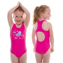 Swimming Costume Pink 1-2 years