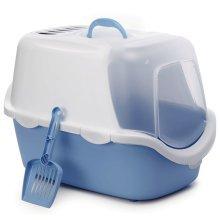 Stefanplast Cat Litter Box Cathy Easy Clean Blue 400419