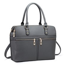 Miss Lulu Women Leather Laptop Handbag Shoulder Bag Tote