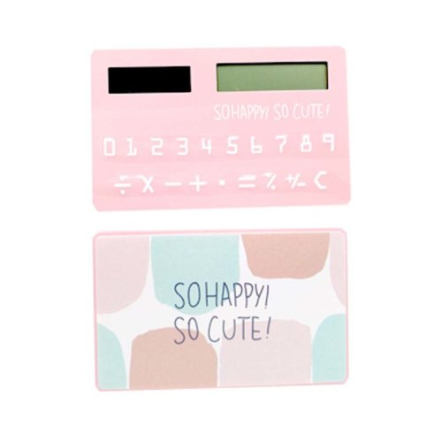 Ultra - thin Cute Mini Office Student Portable Calculator/Kids toys,A7