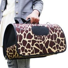 S Size Carry Bag Sweet Cute Pet Home Dog Cat Carrier House Travel---Marble
