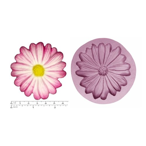 FLOWER; DAISY DAISIES X/L Cupcake Craft Sugarcraft Chocolate Soap Silicone Rubber Mold