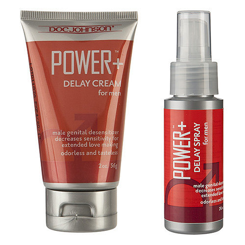 Doc Johnson Power Delay For Men-Cream
