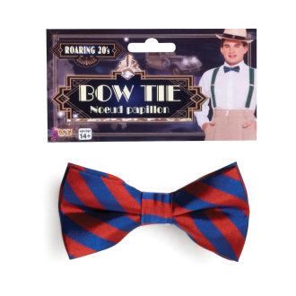 Bristol Novelty Striped Bow Tie