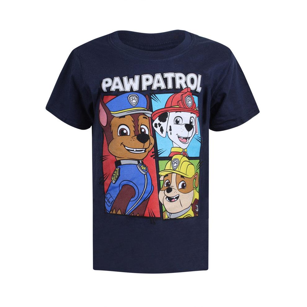 1d0237be0aaa Paw Patrol Team Boys T-shirt Navy on OnBuy