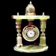 Onyx Marble Clock Ornament
