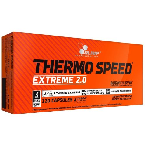 Olimp Nutrition  Thermo Speed Extreme 2.0 - 120 mega caps