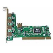 Dynamode (USB-4PCI-2.0) 5-Port USB 2.0 Card, PCI, 4 x Ext, 1 x Int