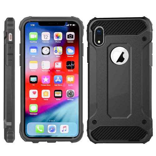 iPhone Xr Case, iPhone Xr Cover, [Survivor] Military-Duty Case - Shockproof Impact Resistant Hybrid Heavy Duty [armor case] Dual Layer Armor Hard Plastic And Bumper Protective Case