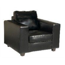 Nazda Black Armchair