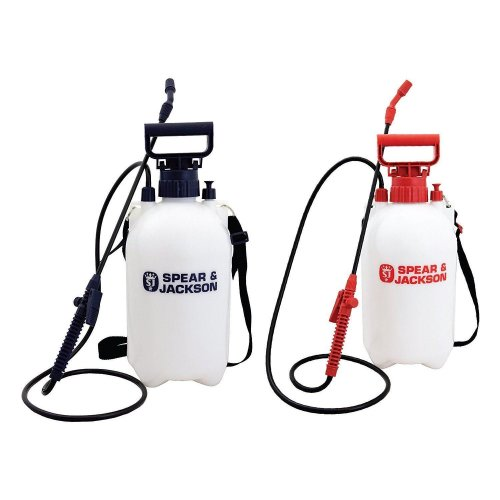 Spear & Jackson Pump Action Pressure Sprayer 5LPAPS 5L ( Pack of 2)