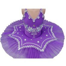 Pretty Dance Dress Children's Ballet Skirt Tutu Princess Dress Costumes Dancewear, D