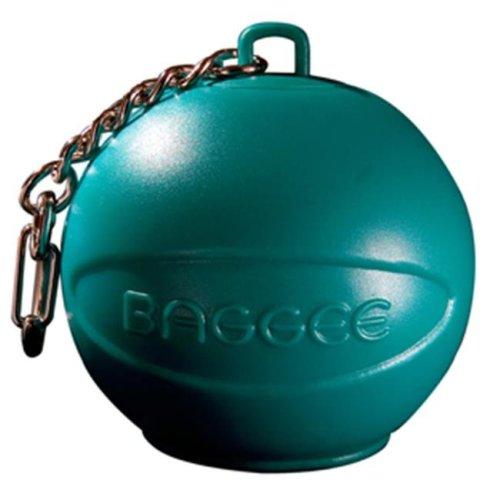 Baggee Plastic Bag Holder Keyring - Turquoise