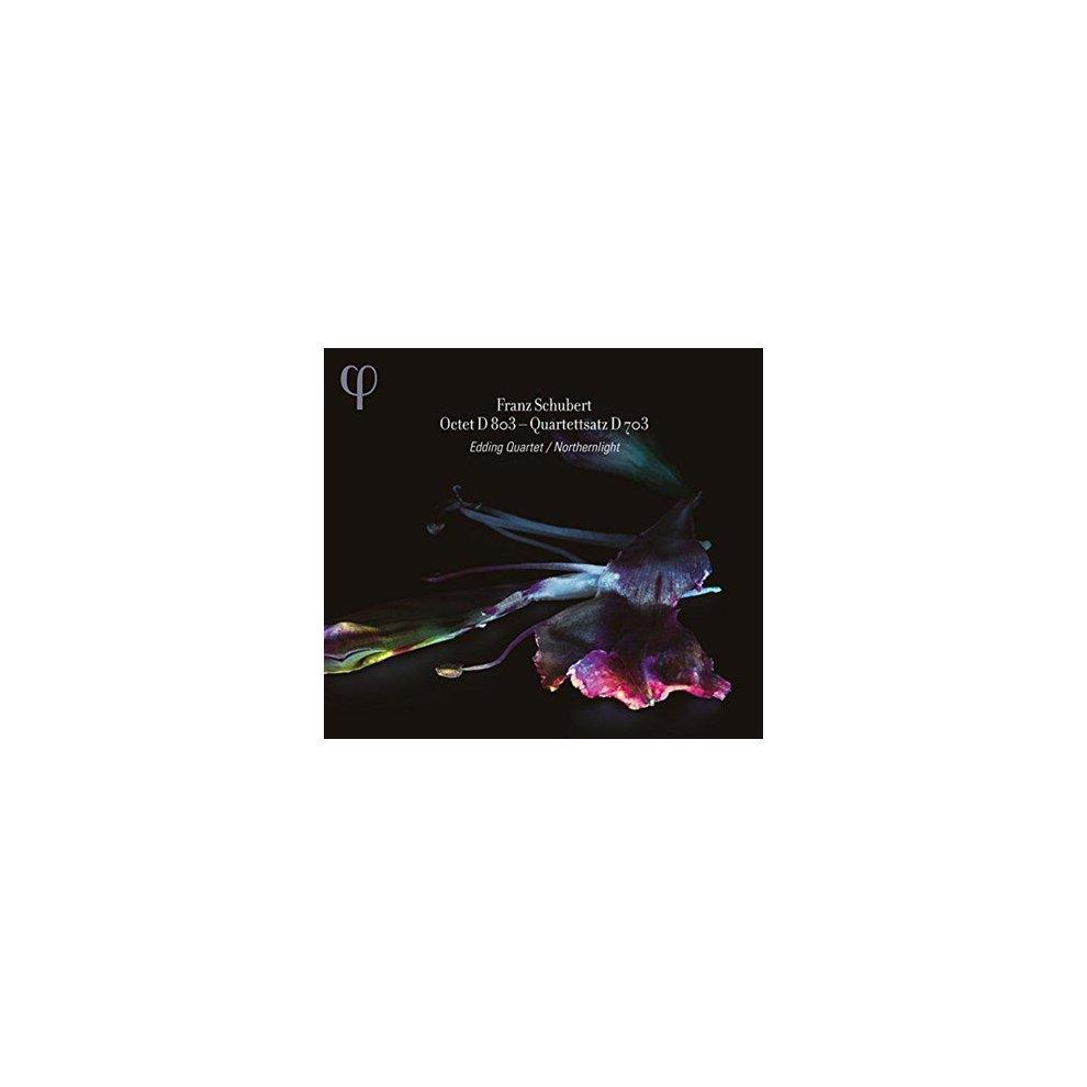 EDDING QUARTET & NORTHERNLIGHT - SCHUBERT: OCTET D803 & QUARTETTSATZ D703 -  CD