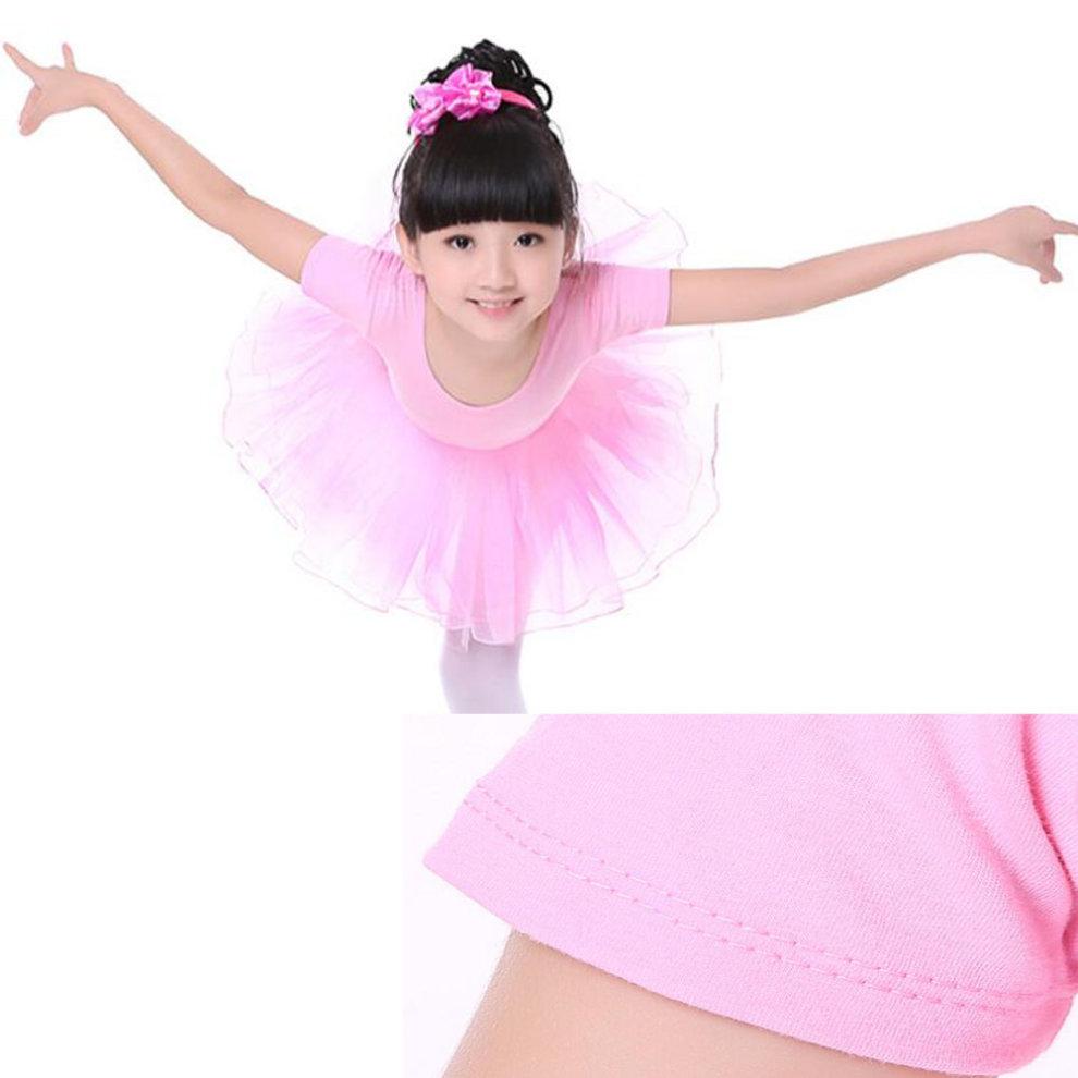 849966750f5b ... Gymnastics Leotards for Girls Leotard Dance Costumes Dancewear  Sportswear Pink - 1. >