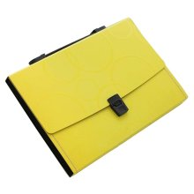 13 Pockets Portable File Holder A4 Document Organizer Information Bag-Y