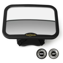 ROYAL RASCALS Baby Car Mirror | Rear view mirror for rearward facing child seat