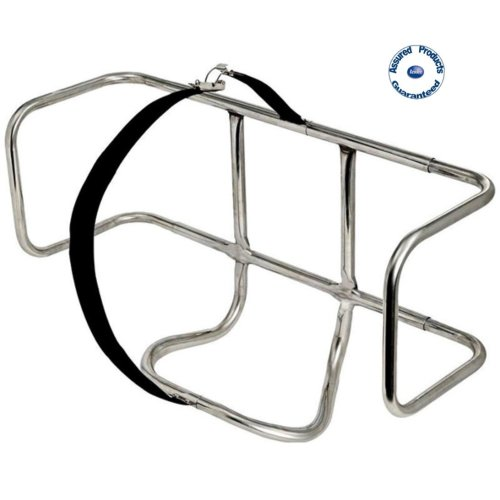 Universal Life Raft Cradle / Holder 316 Stainless Steel (Horizontal)