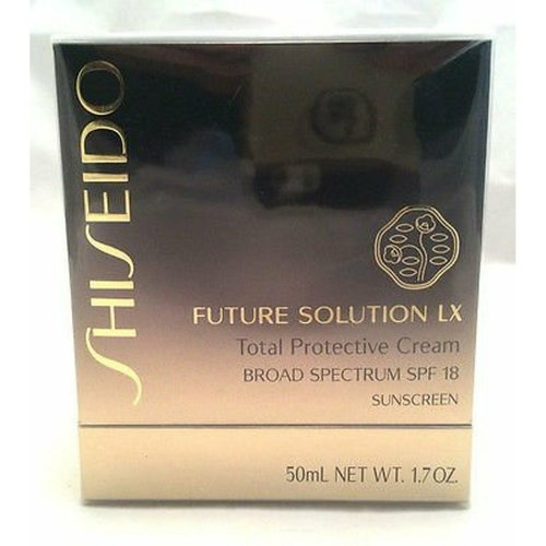 SHISEIDO FUTURE SOLUTION LX Total Protective Cream BROAD SPPECTRUM SPF 18 SUNSCR