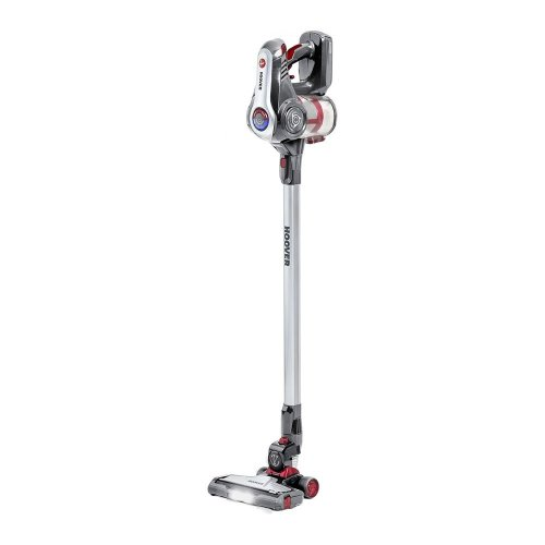 HOOVER Discovery DS22G Cordless Vacuum Cleaner - Titanium & Red, Titanium