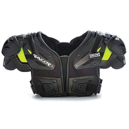 Gear Pro-Tec 1388371 Razor Football Shoulder Pads, Skill - Extra Large