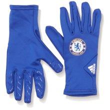 Adidas FC Field Player Gloves - Chelsea Blue/White, Medium