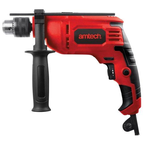 Amtech 710 Watt Ø13mm Variable Speed Hammer Drill With Reverse 2 Year Warranty -  amtech 710 watt 13mm variable speed hammer drill reverse 2 year