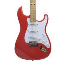 Fender FSR Limited Edition 50s Stratocaster, Fiesta Red, Maple, Gold Hardware