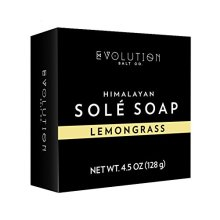 Evolution Salt Sole Bath Soap, Lemongrass, 4.5 Ounce